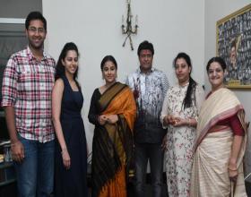 NTR Family welcomes Vidya Balan