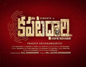 Sumanth's Film title announced as 'KAPATADHAARI'