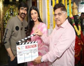 Ravi Teja 66th Film Krack Launched