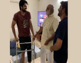 Director K Raghavendra Rao Visits Naga Shaurya