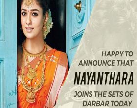 Nayanthara Joins Darbar