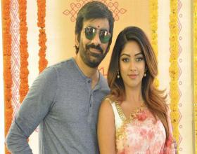 Ravi Teja - Sreenu Vaitla's 'Amar Akbar Anthony' shooting at Jennifer Lopez's mansion