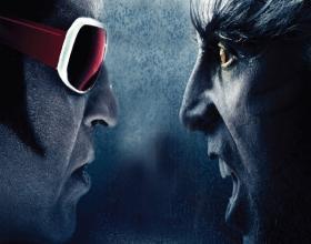 Is Akshay not a villain in Robo 2