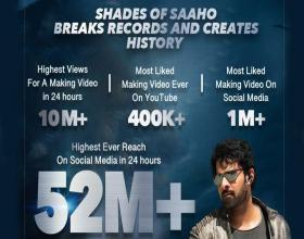 Shades of Saaho Trending in Social Media