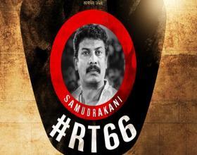 Tamil actor Samuthirakani in Ravi Teja 66th Film