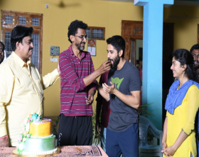 Director Sekhar Kammula Birthday Celebrations held In Love Story sets