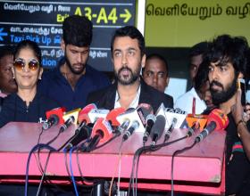 Pilla Puli Song From Suriya's Aakasam Nee Haddhu Ra Launched