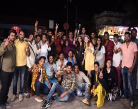Nani- Sudheer Babu's V Shoot Wrapped