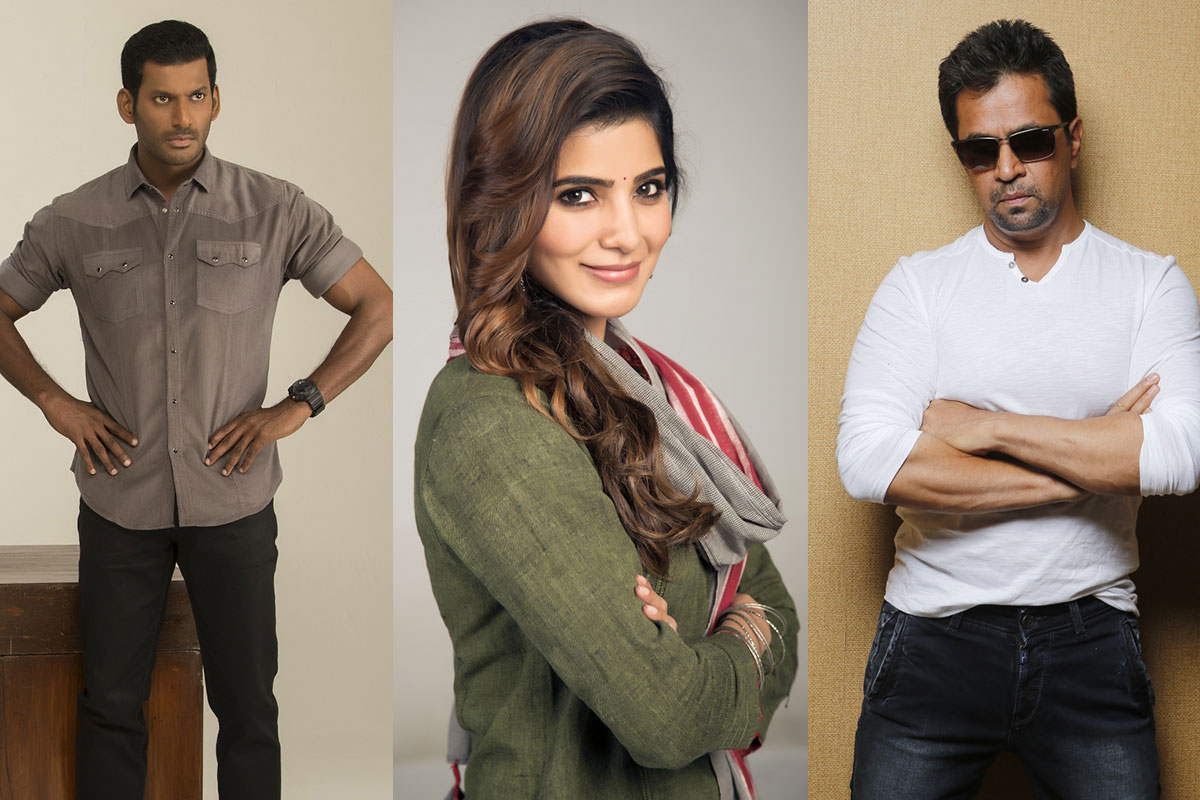 Abhimanyudu Movie Cast Stills