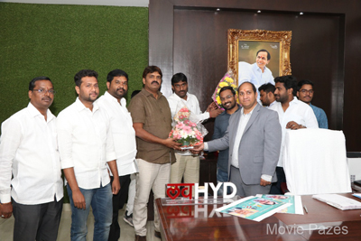 Ameerpet to America poster launch at GHMC