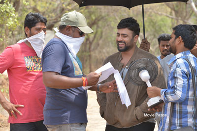 Balakrishnudu Movie Working Stills