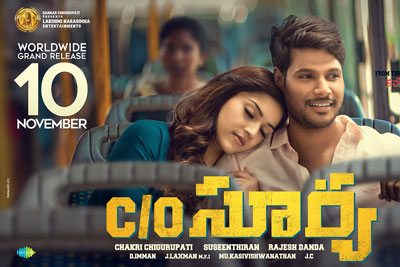 Co Surya Releasing on 10th November