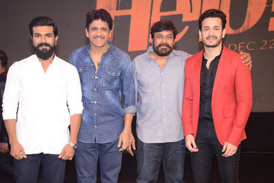 Hello Movie Pre Release Event Stills