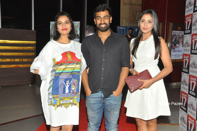 London Babulu Team At Theatre For Premier Show