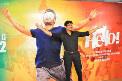 Nagarjuna New Interview Stills About Hello Movie