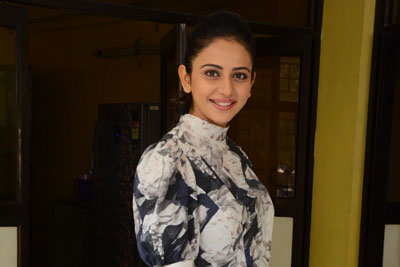 Rakul Preet Singh Stills at Khakee Interview