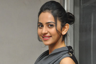 Rakul Preet Singh Stills at Khakee Press Meet
