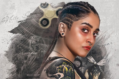 Regina Cassandra Look From Awe Movie