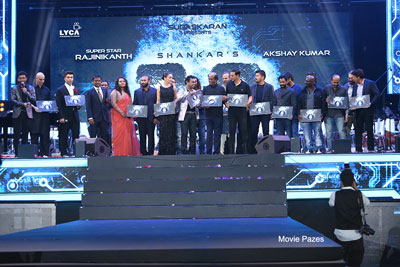 Robo 2.0 Movie Audio Launch 2nd Set