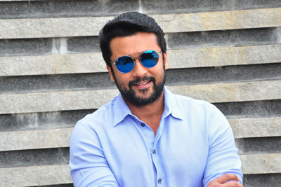 Surya Interview Stills For The Movie Gang
