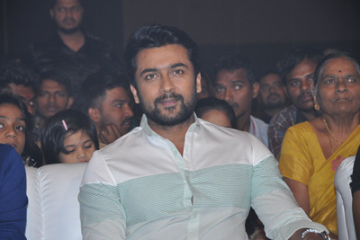 Surya Stills at Gang Pre Release Event