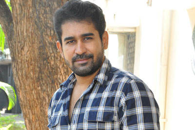 Vijay Antony Stills at Indrasena Interview