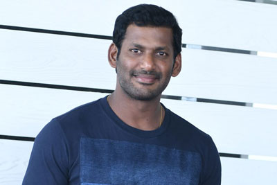 Vishal Stills at Detective Press Meet