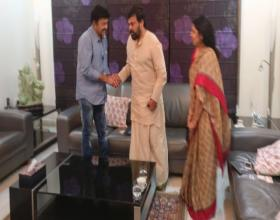When Rajasekhar visited Chiranjeevi