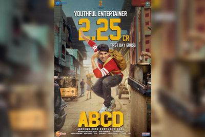 2.25 Cr On 1st Day Gross Collection For ABCD