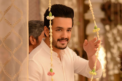 Akhil Stills From Hello Movie