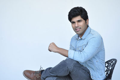 allu-sirish-interview-stills-for-okka-kshanam