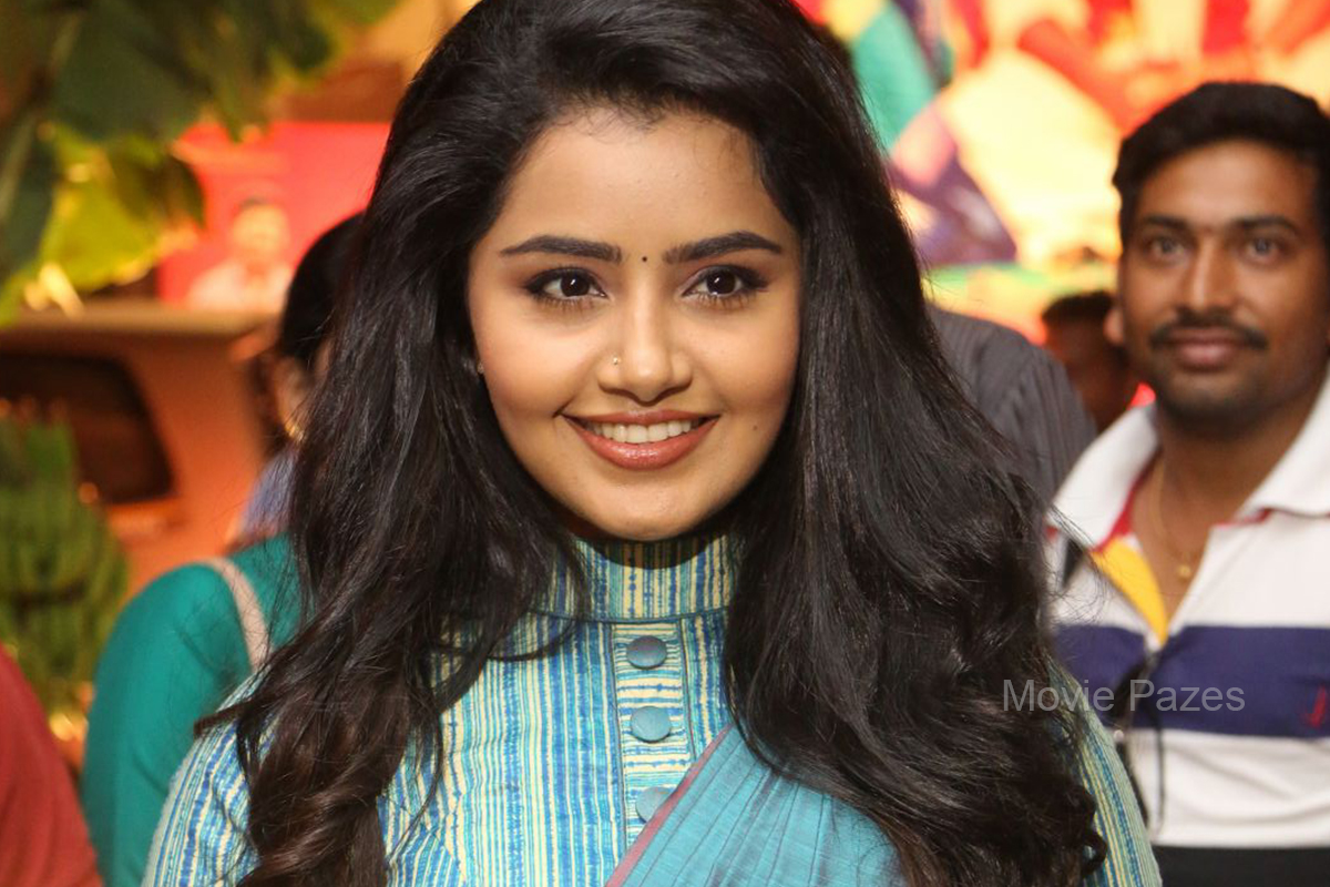 Anupama Parameswaran At Sathamanam Bhavati Audio Launch