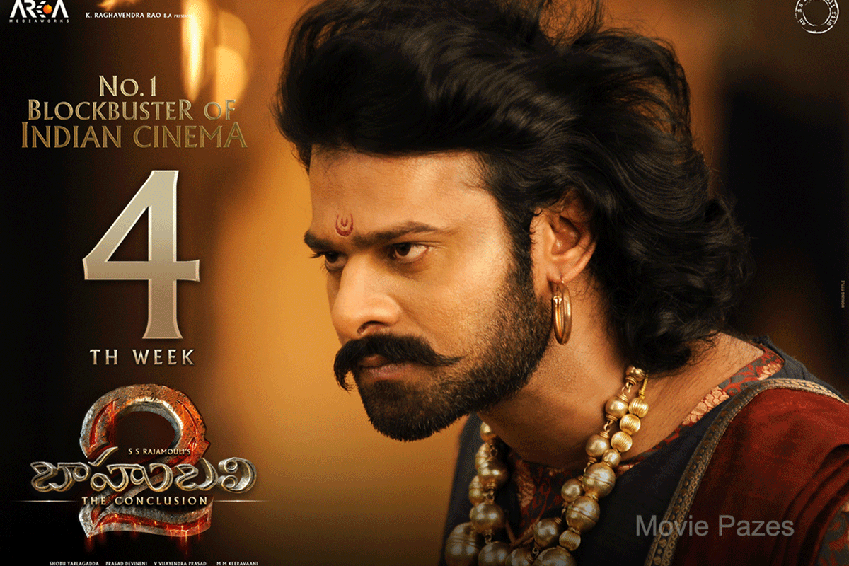 Bahubali 2 4th Week Poster