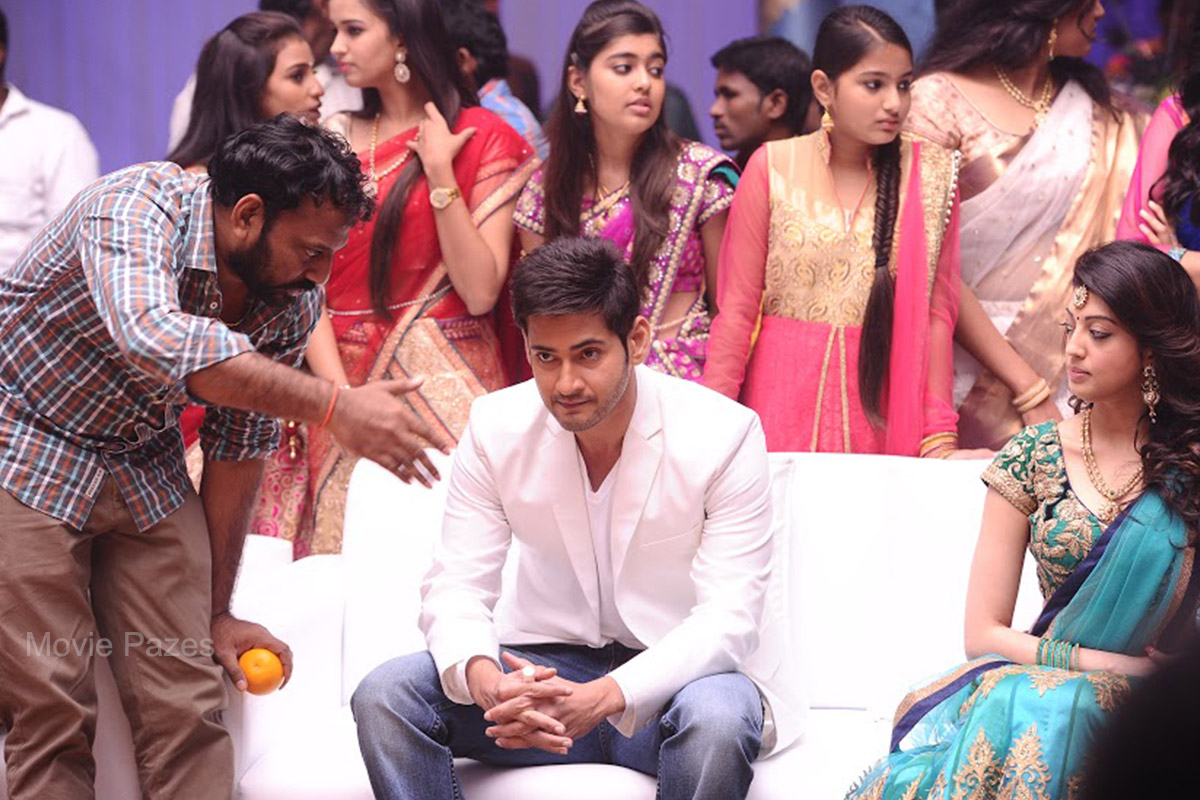 Brahmotsavam Movie Working Stills