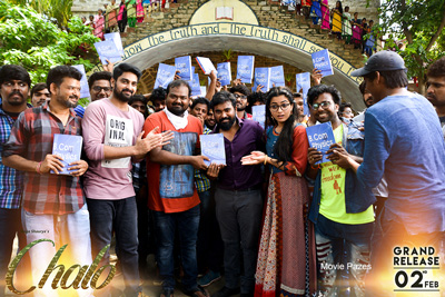 Chalo Latest Working Stills
