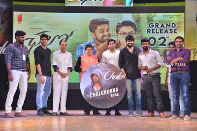 Chalo Movie 3rd Song Launch