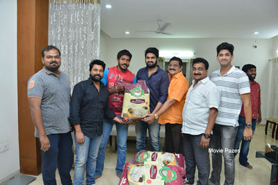 Chalo Movie Team Donating To Oldage Home