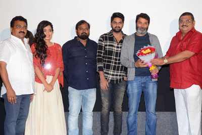 Chalo Movie Teaser Launch Stills