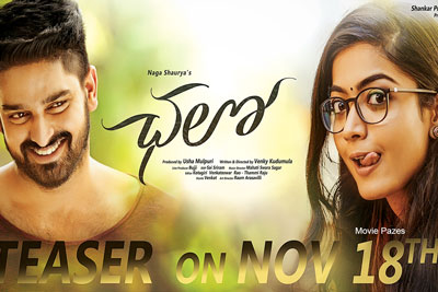 Chalo Movie Teaser Releasing 18th November