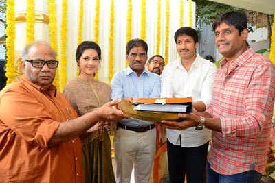 Gopichand and Mehreen Pirzada new movie opening