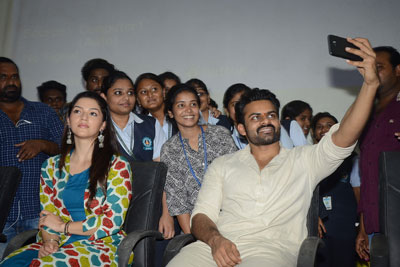 Jawaan Movie Interaction With Students at Ramachandra College