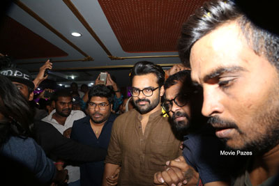 Jawaan Premiere show at Sriramulu Theater
