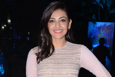 Kajal Aggarwal At Awe Pre Release Event