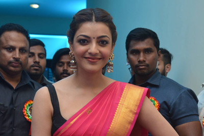 Kajal Stills at Jogendra Yuvagarjana