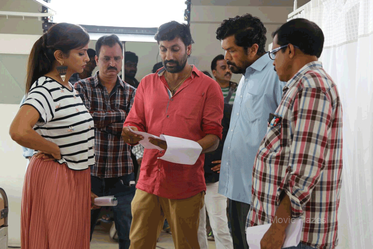 Lakshmi Bomb Working Stills