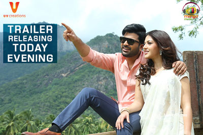 Mahanubhavudu Trailer Releasing Today