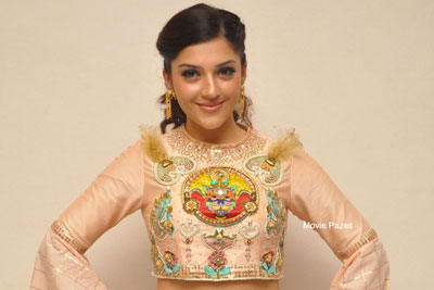 Mehreen Kaur At Raja The Great Trailer Launch