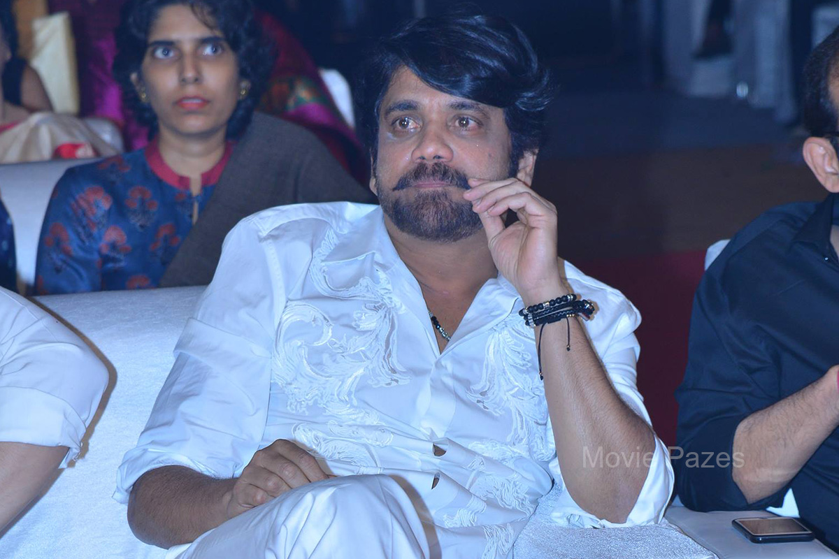 Nagarjuna At Om Namo Venkatesaya Audio Launch
