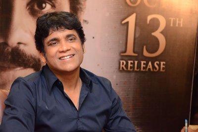 Nagarjuna Interview Stills for Raju Gari Gadhi 2