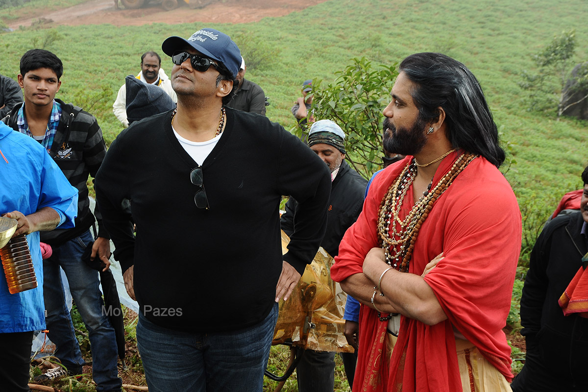 Om Namo Venkatesaya Working Stills